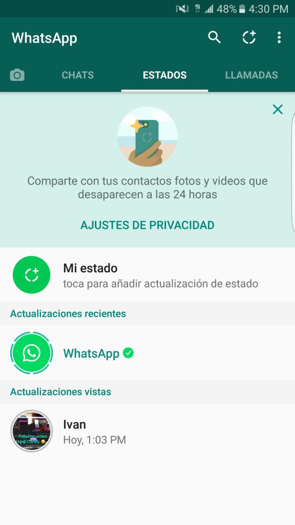 Whatsapp Status Isabelluna